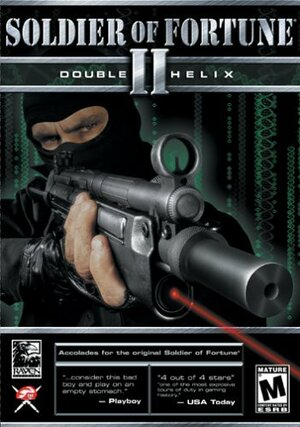 Cover for Soldier of Fortune II: Double Helix.
