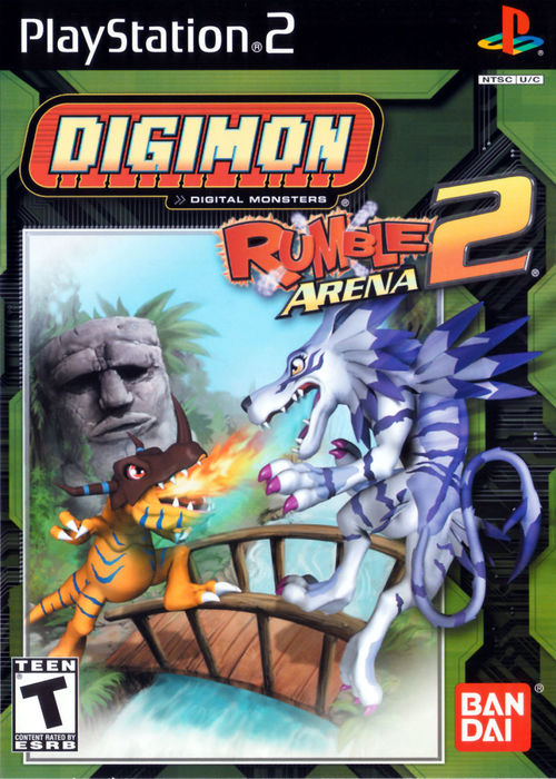 Cover for Digimon Rumble Arena 2.