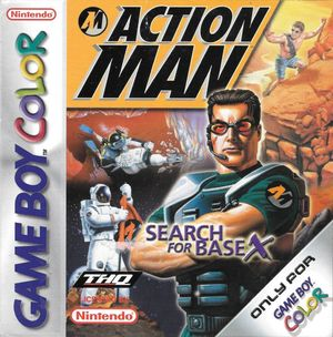 Cover for Action Man: Search for Base X.