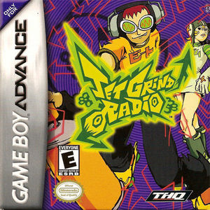 Cover for Jet Grind Radio.