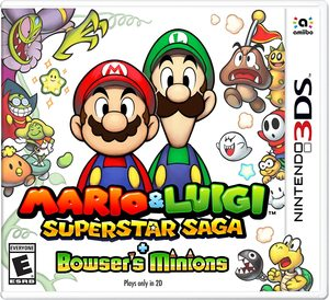 Cover for Mario & Luigi: Superstar Saga + Bowser's Minions.