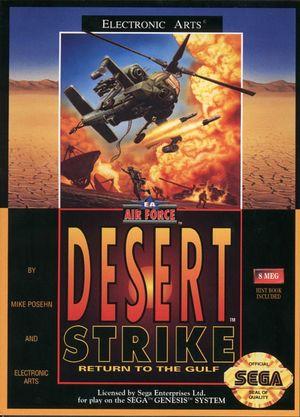 Cover for Desert Strike: Return to the Gulf.