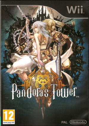 Cover for Pandora's Tower.
