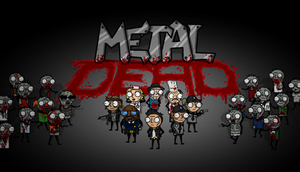 Cover for Metal Dead.