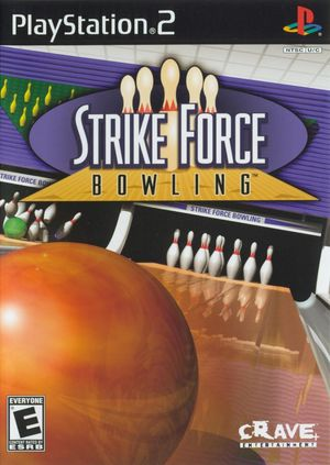 Cover for Strike Force Bowling.