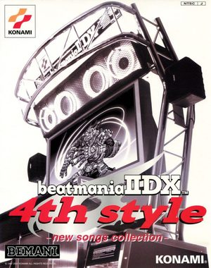Cover for Beatmania IIDX 4th Style.