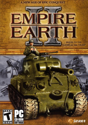 Cover for Empire Earth II.