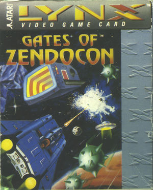 Cover for Gates of Zendocon.