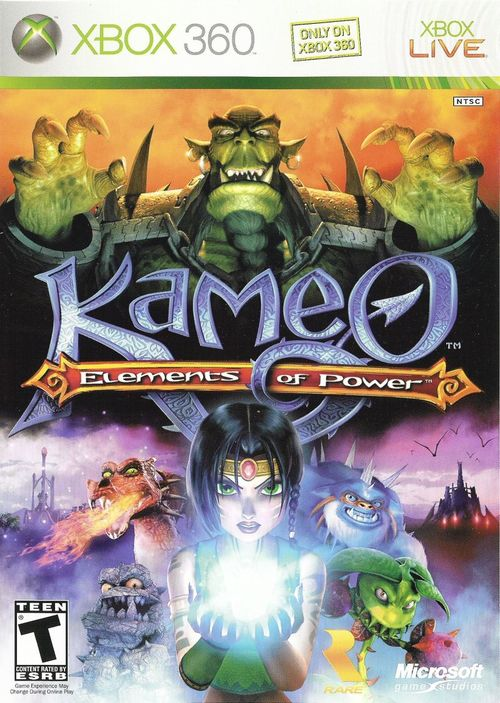 Cover for Kameo: Elements of Power.
