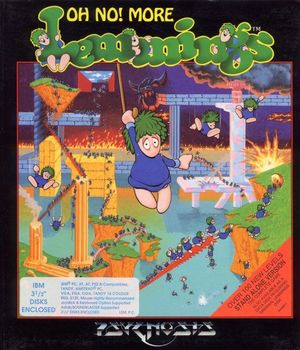 Cover for Oh No! More Lemmings.
