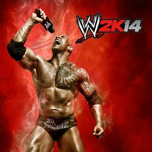 Cover for WWE 2K14.