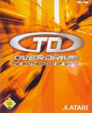 Cover for TD Overdrive: The Brotherhood of Speed.