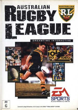 Cover for Australian Rugby League.