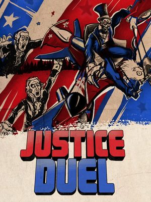 Cover for Justice Duel.