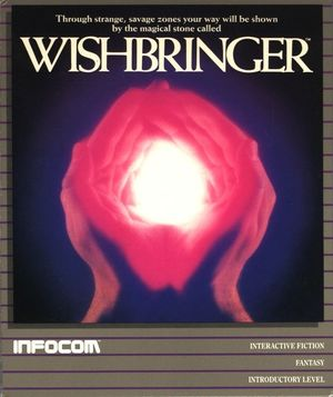 Cover for Wishbringer.