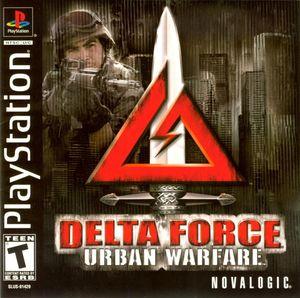 Cover for Delta Force: Urban Warfare.