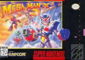 Cover for Mega Man X3.