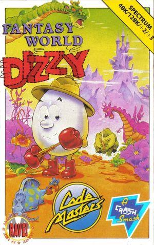Cover for Fantasy World Dizzy.