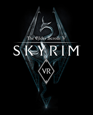 Cover for The Elder Scrolls V: Skyrim VR.