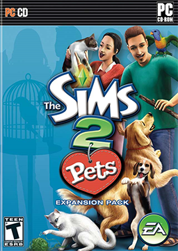 Cover for The Sims 2: Pets.