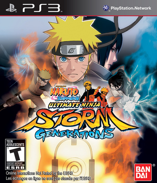 Cover for Naruto Shippuden: Ultimate Ninja Storm Generations.