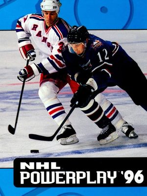 Cover for NHL Powerplay '96.