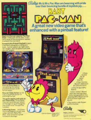 Cover for Baby Pac-Man.