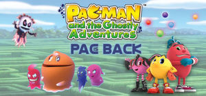 Cover for Pac-Man and the Ghostly Adventures.