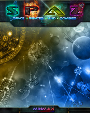 Cover for Space Pirates and Zombies.