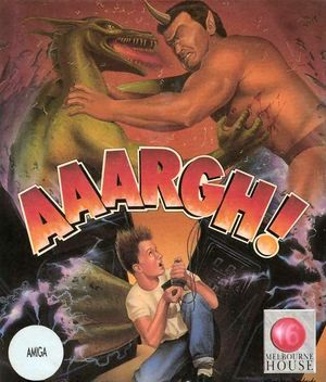 Cover for Aaargh!.