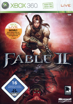 Cover for Fable II.