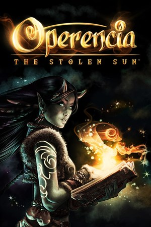 Cover for Operencia: The Stolen Sun.