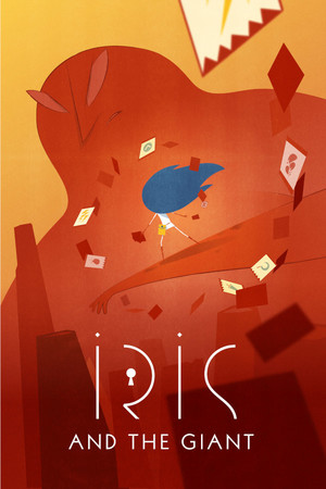 Cover for Iris and the Giant.