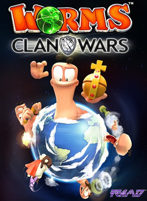 Cover for Worms: Clan Wars.
