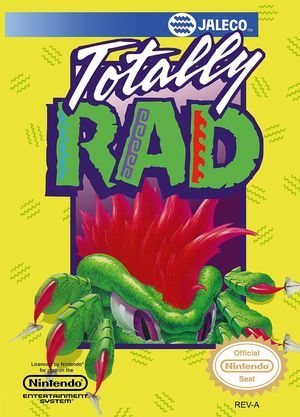 Cover for Totally Rad.