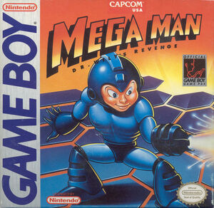 Cover for Mega Man: Dr. Wily's Revenge.