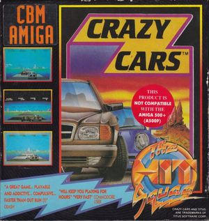 Cover for Crazy Cars.