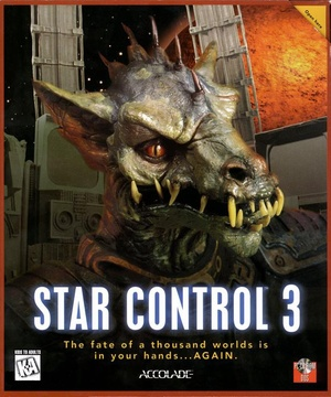 Cover for Star Control 3.