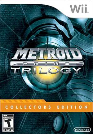 Cover for Metroid Prime: Trilogy.