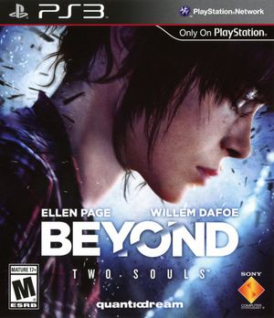 Cover for Beyond: Two Souls.