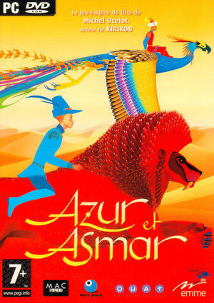 Cover for Azur & Asmar: The Princes' Quest.