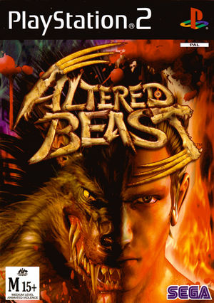 Cover for Altered Beast.