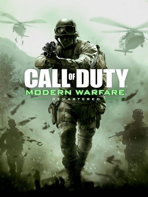 Cover for Call of Duty: Modern Warfare Remastered.