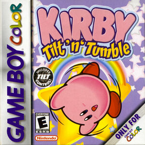 Cover for Kirby Tilt 'n' Tumble.
