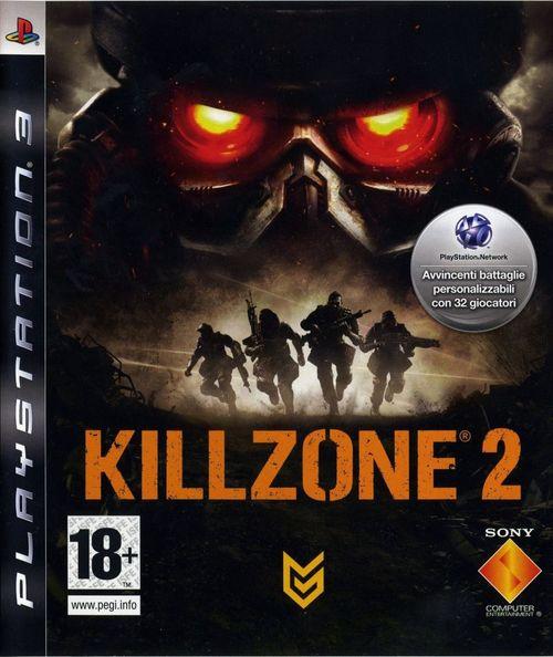 Cover for Killzone 2.