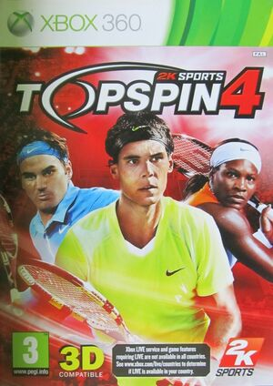 Cover for Top Spin 4.