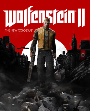 Cover for Wolfenstein II: The New Colossus.