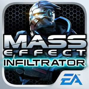 Cover for Mass Effect: Infiltrator.