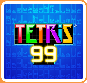 Cover for Tetris 99.