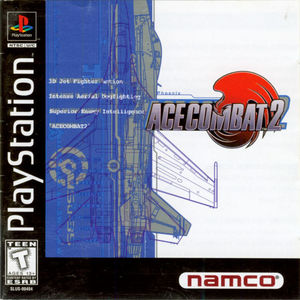 Cover for Ace Combat 2.